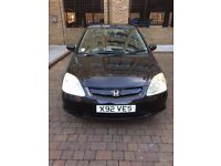 Honda Civic 2001 Hatchback 5 Dr £800