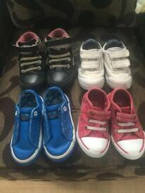Bundle boys shoes size 6 Next f&f