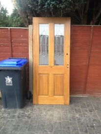 3 x Wooden Front Doors For Sale