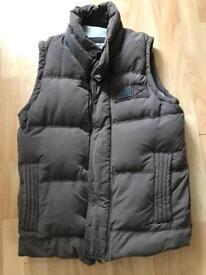 Super dry padded gilet style body warmer jacket LARGE