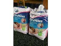 Girls age 4-7 drynites