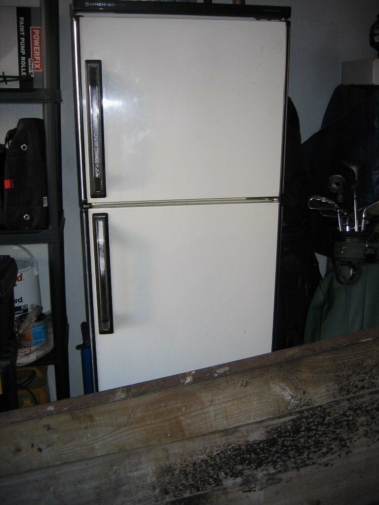 hatichi fridge freezer great for extra fridge garage. Black Bedroom Furniture Sets. Home Design Ideas