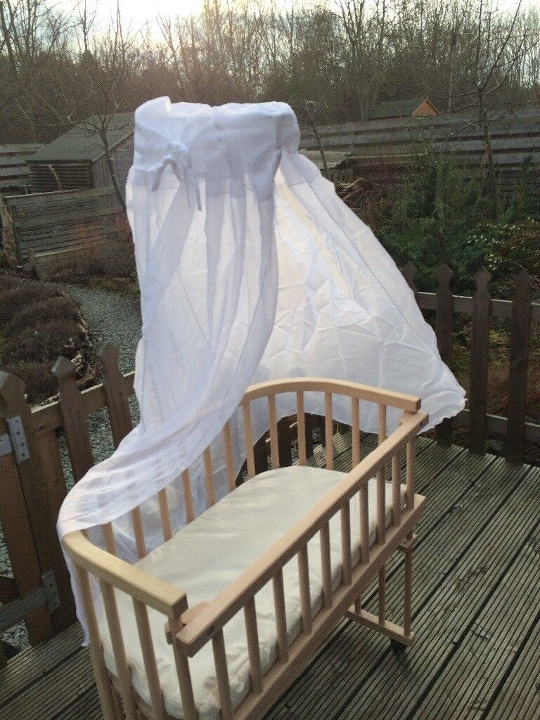Co sleeping cot original babybay with accessories