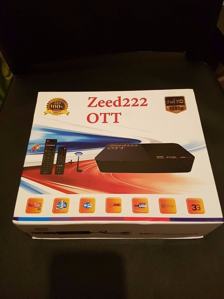 Zeed 222 OTT International IPTV STB