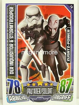 & Stormtrooper - Star Wars Rebel Attax (Star Wars Rebels Der Inquisitor)