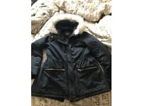 Ladies parka coat