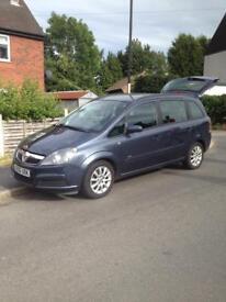 Vauxhall Zafira 1.6 club MOT 7 seater