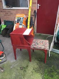 Period telephone table