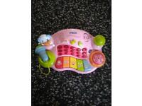 Two vtech toys musical & princess telephone