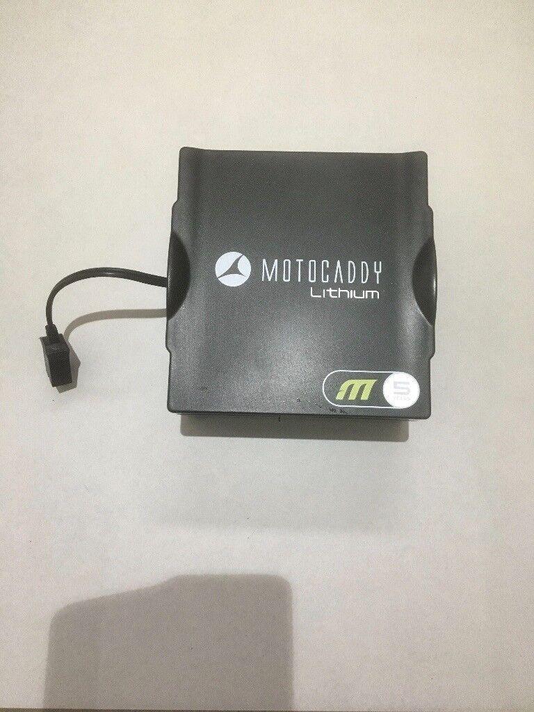 Motocaddy unused M series 18 hole lithium battery | in Hutton, Essex |  Gumtree