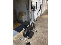 2-in-1 exercise bike / cross trainer