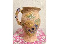 Arthur Wood Jug/Pitcher/Vase, Vintage/Antique Pottery, Shabby Chic