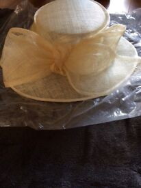 Cream Coloured Mother of the Bride/Groom/Guest Hat