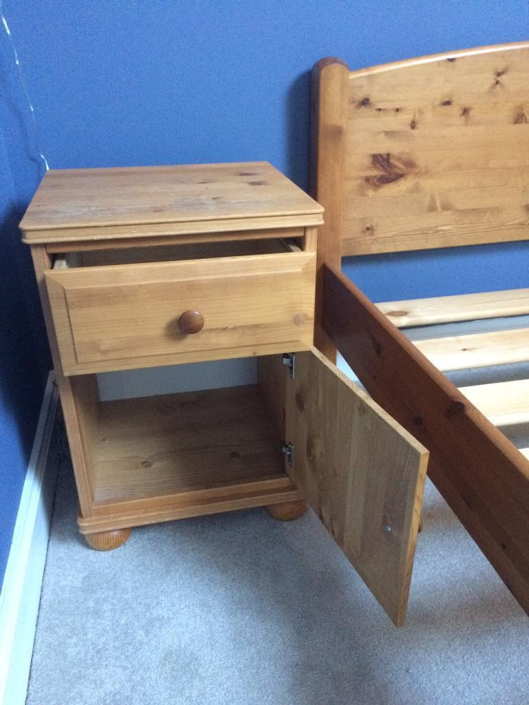 Pine Bedside Cabinetin Dunfermline, FifeGumtree - Pine bedside cabinet for sale. See separate post for pine bed frame also for sale