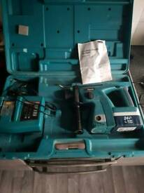 Makita 24v drill with charger