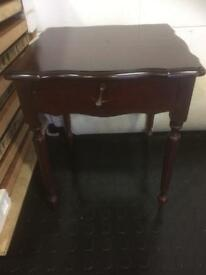 Occasional table and drawer