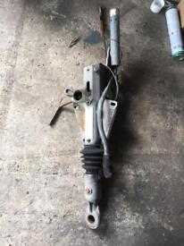 Trailer hitch and ring Bradley double 2.8 ton