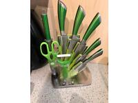Lime kitchen set