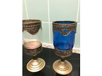 Moroccan decore candle holder