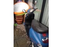 Cheap 50cc Vespa