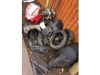 Gilera runner new shape parts