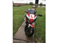 Learner-legal WK SP50 motorbike moped