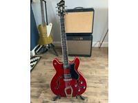 Hagstrom Viking Cherry Red