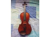 Old German violin c1890