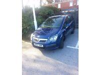 Vauxhall zafira life B 2007- 08