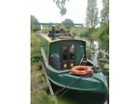 57ft narrowboat, built by Liverpool Boats 2005
