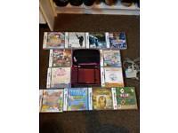 Nintendo Dsi xl with 12 games