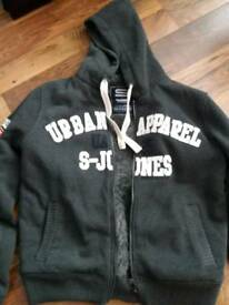 Smith & Jones zip up hoodie jacket XL