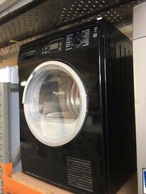 BOSCH 8KG CONDENSER DRYER BLACK RECONDITIONED