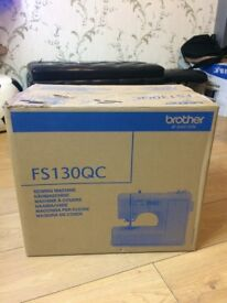 Brand New Brother Sewing Machine ,Embroidery Machine, FS130 QC,Computerize 130 stitch