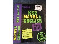 KS2 Maths and English book