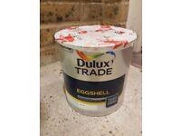 Dulux Eggshell White 2.5 Litres Wood Paint