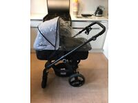 My Babiie travel system My Babiie travel system car seat not included.