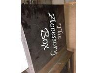X4 Joblot Food Shop Signs