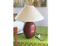Largeish table lamp.