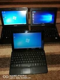 For sale netbooks laptops £60 each