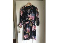 Warehouse floral size 12 dress