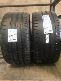 Brand new Michelin pilot sports 265 35 20