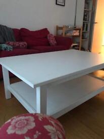 White Ikea Coffee Table