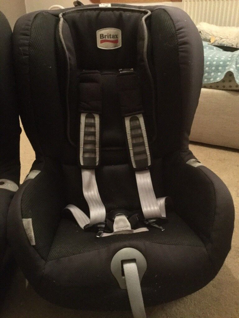 Britax Front Facing Car Seat Pair Of
