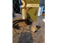 x box 360 headphones in box
