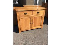 Ex-display**Solid oak 2 door 2 drawer sideboard ONLY £249