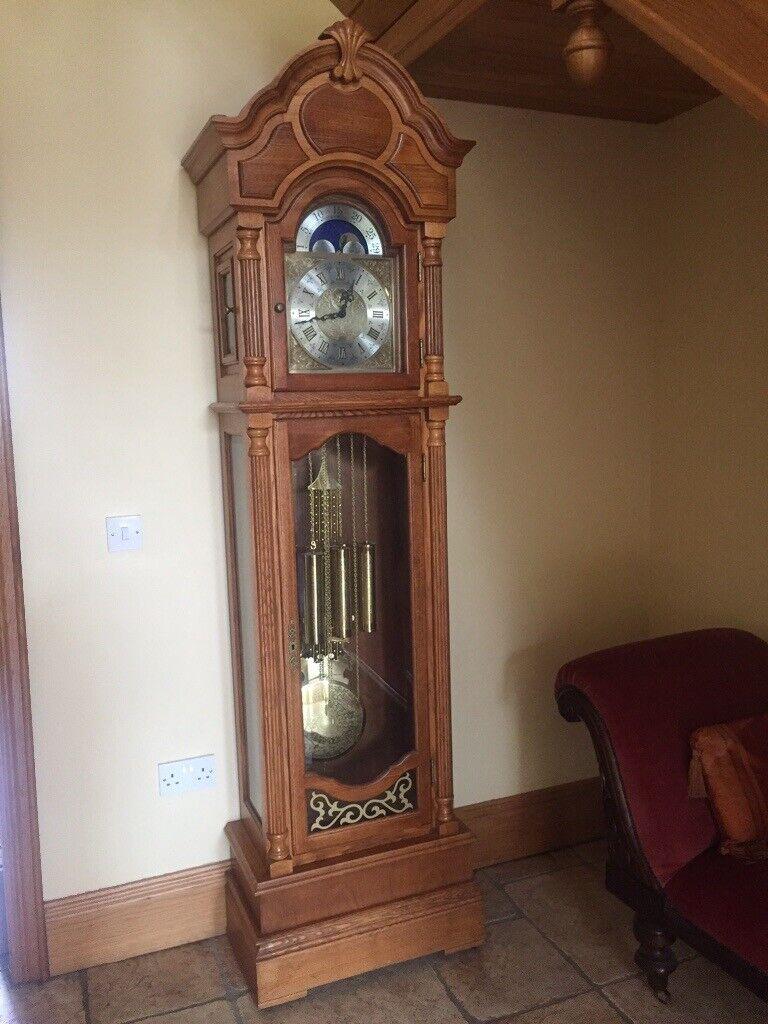 Oak Grandfather Clock | in Craigavon, County Armagh | Gumtree