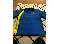 Quality Subaru rally team pit coat jacket new size medium