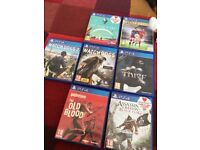 PS4 Games (collectionh