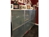 Ikea Glass Display cabinets - good condition